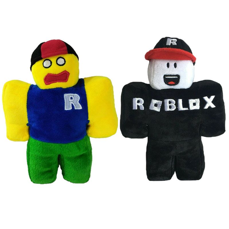 Roblox Guest Hat 2pcs Set Roblox Guest Plush Soft Stuffed With Removable Hat Kids Christmas Gift Ebay